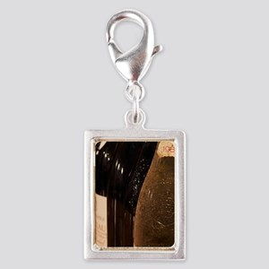 Bottle of Chateau de Beaucas Silver Portrait Charm