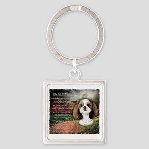 godmadedogs2 Square Keychain