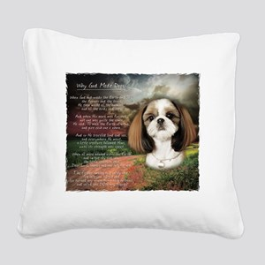 godmadedogs2 Square Canvas Pillow