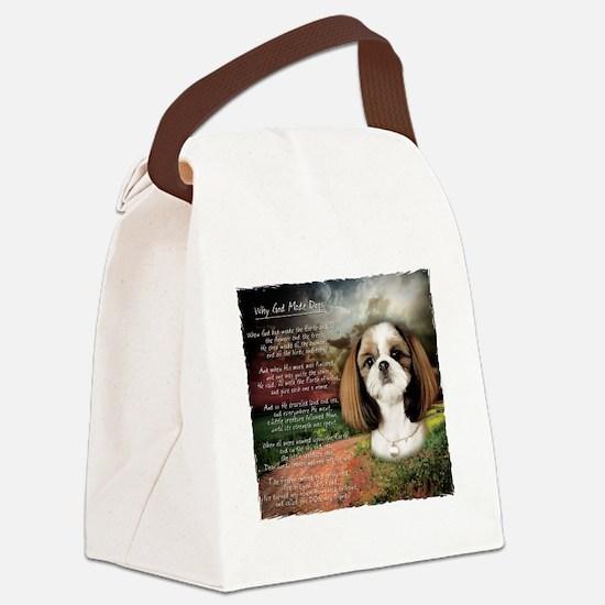 godmadedogs2 Canvas Lunch Bag