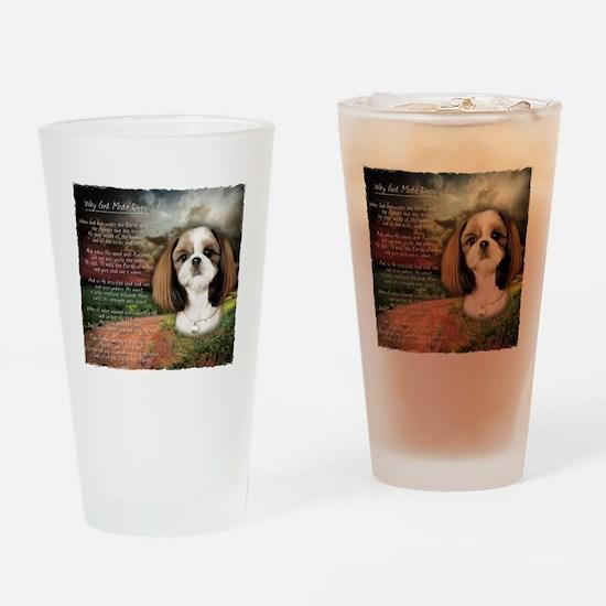 godmadedogs2 Drinking Glass