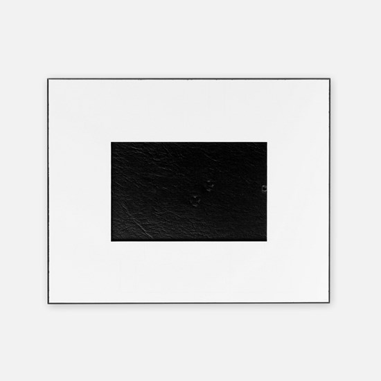 occupy wall street black tee Picture Frame