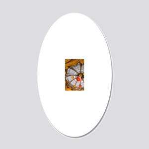 Galleries Lafayette departme 20x12 Oval Wall Decal