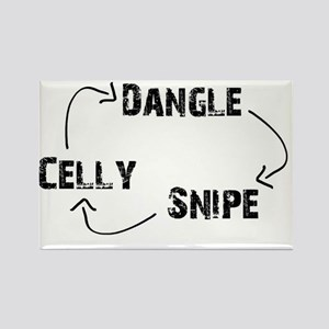 DangleSnipeCelly2 Rectangle Magnet