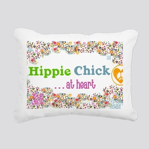 lg-hippie-chick Rectangular Canvas Pillow