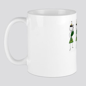 bandwithdancerscolour Mug