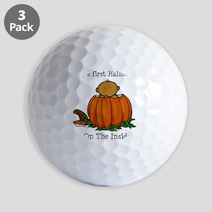 babysfirsthallo_med Golf Balls