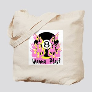 PoolChick Wanna Play Tote Bag
