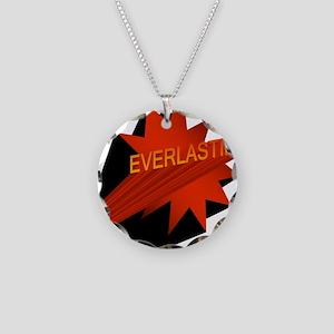 Everlasting Necklace Circle Charm