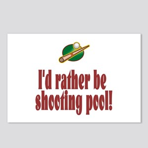 PoolChick Rather Postcards (Package of 8)