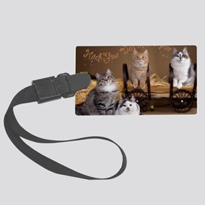 Wagon Card Front Large Luggage Tag