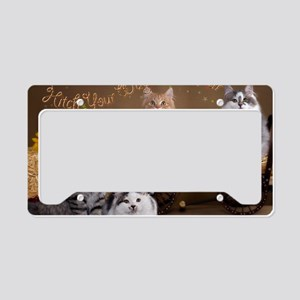 Wagon Card Front License Plate Holder