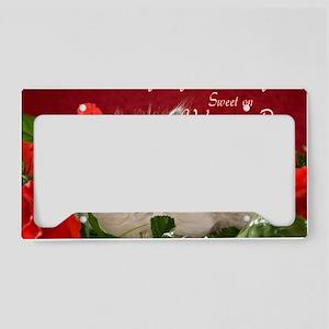 Valentines Card Front License Plate Holder