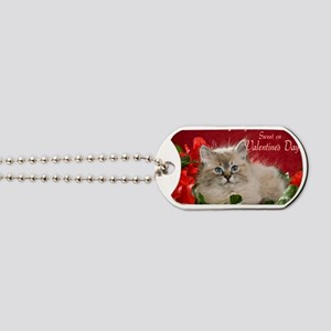 Valentines Card Front Dog Tags