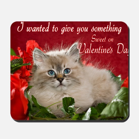 Valentines Card Front Mousepad