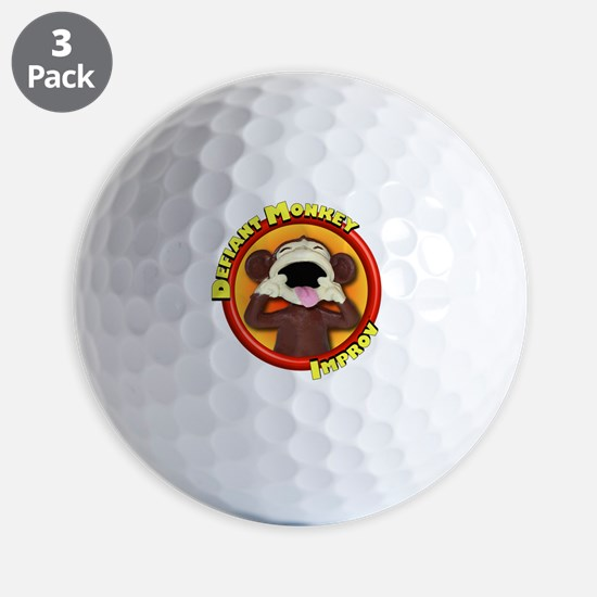 Defiant Monkey DARK Golf Ball