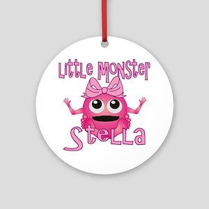 stella-g-monster Round Ornament