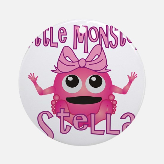 stella-g-monster Round Ornament
