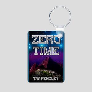 Zero Time notecard Aluminum Photo Keychain