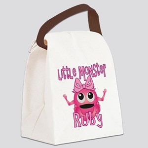 ruby-g-monster Canvas Lunch Bag