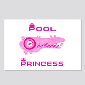 PoolChick's Princess Postcards (Package of 8)