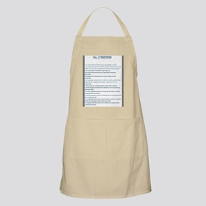 N.A. 12 Tradition Posters Apron