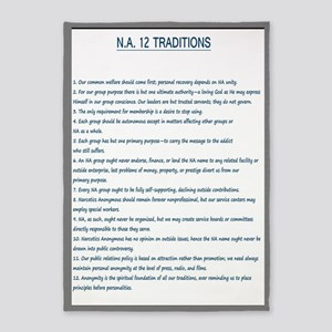 N.A. 12 Tradition Posters 5'x7'Area Rug
