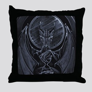 Time Hoarder Throw Pillow