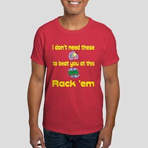 PoolChick Rack Em Dark T-Shirt