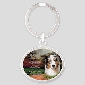 godmadedogs(oval) Oval Keychain