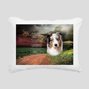 godmadedogs(oval) Rectangular Canvas Pillow