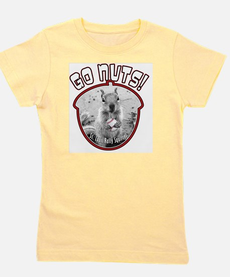 rally-squirrel-02_go-nuts_01 Girl's Tee