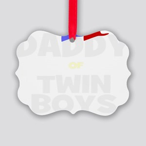 Daddy of twins Picture Ornament