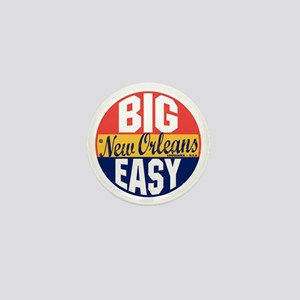 New Orleans Vintage Label B Mini Button