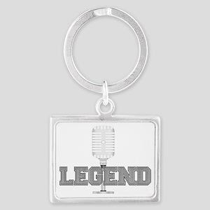 logoWhite2 Landscape Keychain