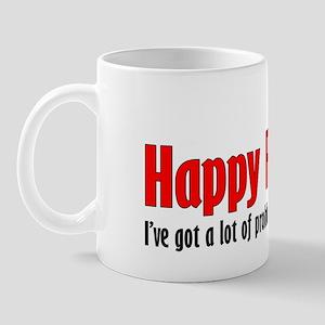 happy FESTIVUS™-lot of problems Mug