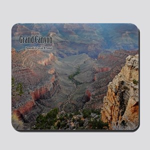 9x11_over-front-canyon Mousepad
