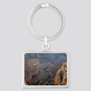 9x11_over-front-canyon Landscape Keychain