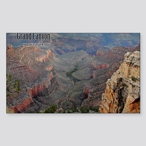 9x11_over-front-canyon Sticker (Rectangle)