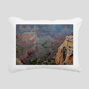 9x11_over-front-canyon Rectangular Canvas Pillow