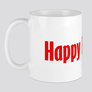 happy-FESTIVUS™-lot-of-problems-black Mug