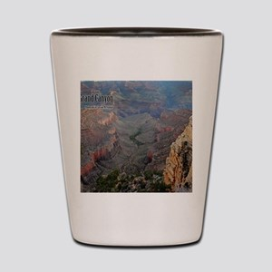 9x11_over-front-canyon Shot Glass