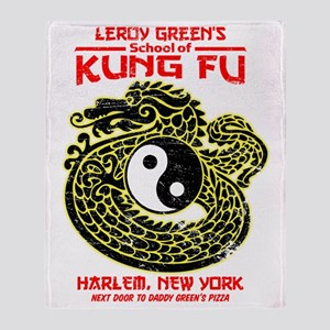 LeroyGreensKungFu Throw Blanket
