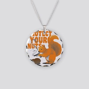 protectyournuts Necklace Circle Charm