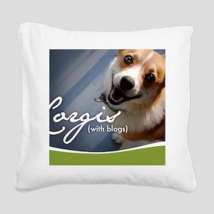 cover_plain Square Canvas Pillow
