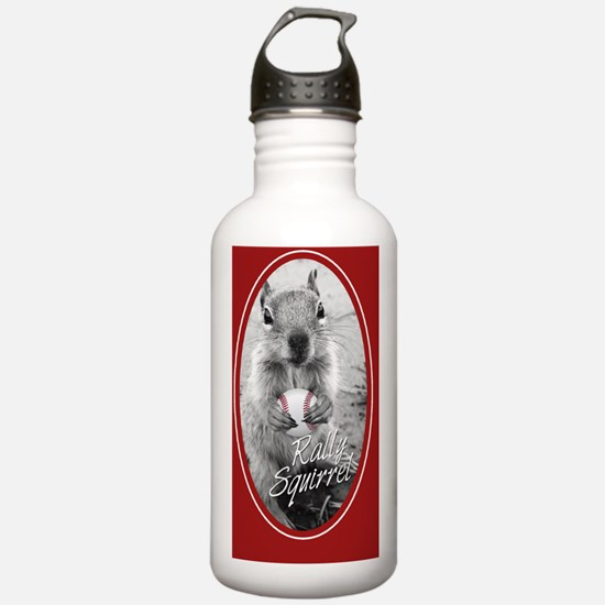 5x3oval_vert_rally-squ Water Bottle