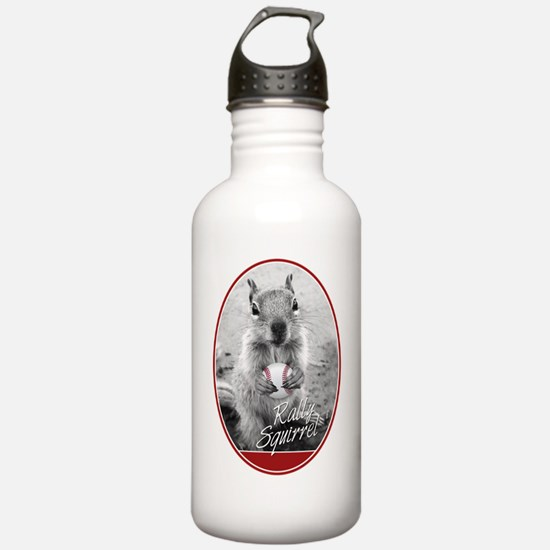 Rally Squirrel Water Bottle