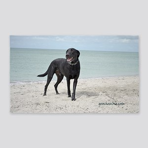 Black Labrador 3'x5' Area Rug