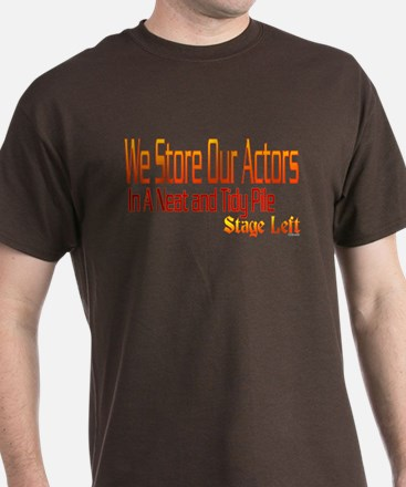 Backstage Actor Storage T-Shirt
