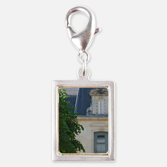The small but very well prop Silver Portrait Charm